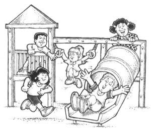 school playground clipart black and white be safe on playground clipart clipart suggest