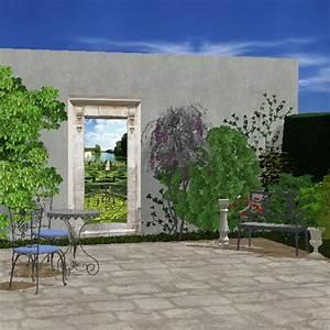 Jardin Deco Exterieur : deco mur jardin bouddha deco exterieur maison email ~ Teatrodelosmanantiales.com Idées de Décoration