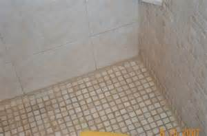 Regrout Floor Tiles Bathroom by Mold On Shower Grout Removal