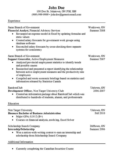 Financial Analyst Resume Template Free by Pin By Ririn Nazza On Free Resume Sle Resume Free