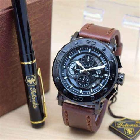 jam tangan pria 511 tactical jual jam tangan tetonis original pria tali kulit harga murah