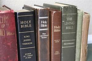 What 39 S The Difference Between Various Bible Versions