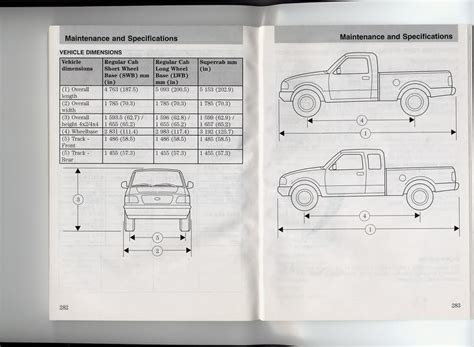 dimensions   ranger chassis page