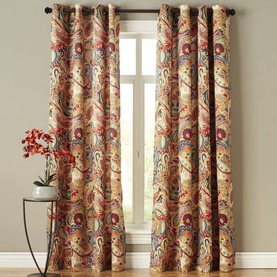 17 best ideas about paisley curtains on