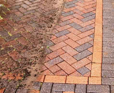 driveway patio and block paving cleaning in nottingham