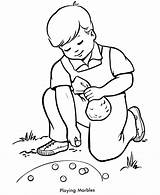 Coloring Pages Children Playing Spring Activities Games Marbles Clipart Outdoor Sheets War Fun Adult Civil Drawing Pioneer Activity Clip American sketch template
