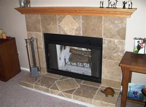 Fireplace Hearth Tile Ideas Design Decoration