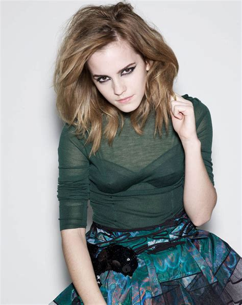 Emma Watson  Elle Uk Magazine Photoshoot (2009)  4 Emma