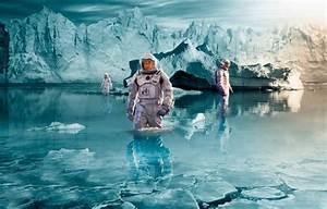 Обои астронавты, Interstellar, арт, по мотивам фильма ...