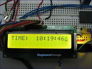 Digital Clock Using Rtc Ds12c887 And 8051 Microcontroller