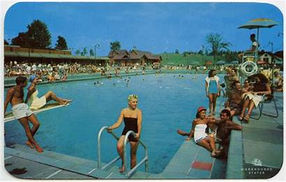 Abandoned States Places 1960s Postcards