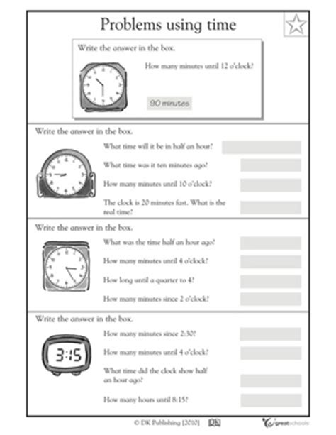 18 best images of elapsed time 3rd grade math worksheets