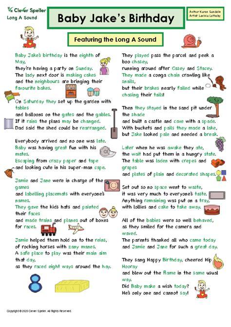 homophones  homonyms long  grammar story based