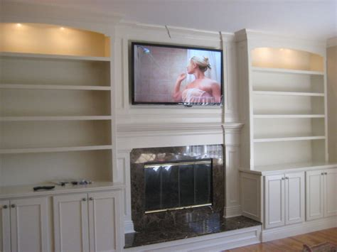 living room bookshelves and cabinets custom built mantle cabinets and bookshelves