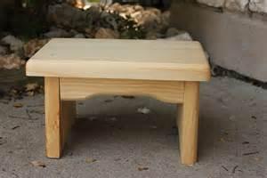 Folding Wooden Step Stool Plans