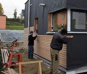 Außenwand Mit Holz Verkleiden : fasadenverkleidung haus mit l rchenholz bauanleitung zum ~ Watch28wear.com Haus und Dekorationen