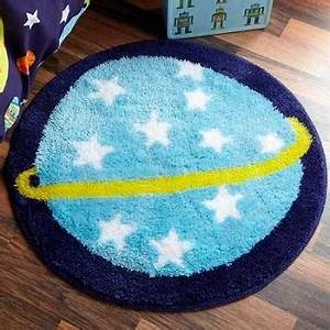 60cm X 60cm Outer Space Planet Fun Rug