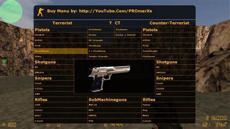 download command menu for cs 1.6