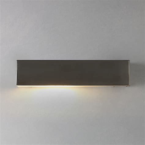 nordlux square outdoor wall light stainless steel