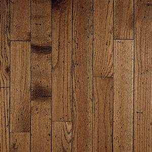 Shop bruce gentry plank 325 in w prefinished oak hardwood for Plank hardwood flooring