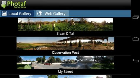 Panoramic Android by Android Snap Panorama Photos With Photaf Panorama A