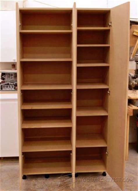 finish storage cabinet plan woodarchivist