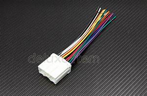 New Car Stereo Wire Wiring Harness Plugs For Mitsubishi  Eagle Talon 1994
