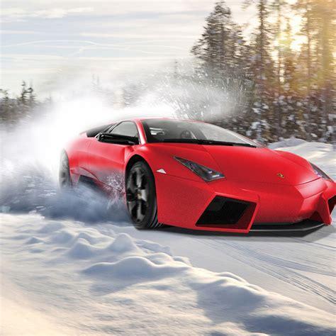 Red Lamborghini Supercar Ipad Air 2 Wallpapers