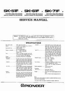 Pioneer Vsx 920 Service Manual