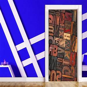 door contact paper self adhesive carved wood letters With peel and stick letters for wood