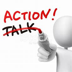 Action Word Written With Crossing Out The Word Talk Stock Photos Freeimagescom