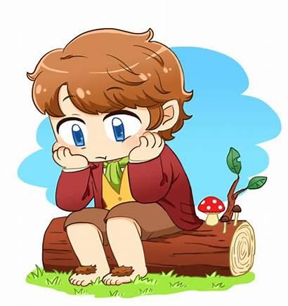 Bilbo Baggins Hobbit Chibi Clipart Fanart Fan