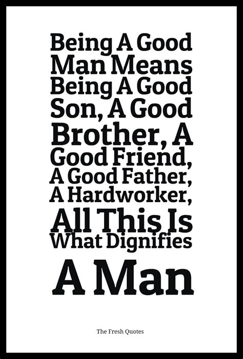 Being With A Good Man Quotes