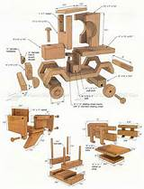 Pictures of Wooden Toy Truck Plans