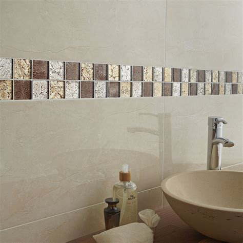 mosaique carrelage leroy merlin mosa 239 que mur glass select mix marron leroy merlin