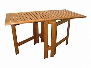 Table Jardin En Bois : table jardin bois pliante canape de jardin en resine maison boncolac ~ Dode.kayakingforconservation.com Idées de Décoration