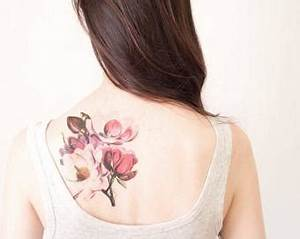 Temporary Tattoo Sleeve Vintage Floral Temporary Tattoo