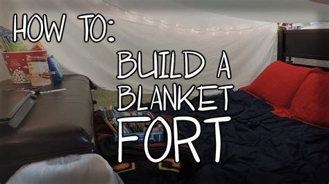 How To Build A Fort!  Youtube