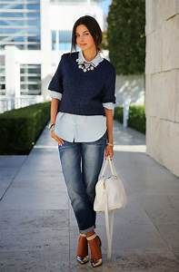Chambray Shirts Outfit Ideas 2018 | FashionTasty.com