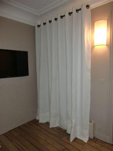 double rideaux blanc images