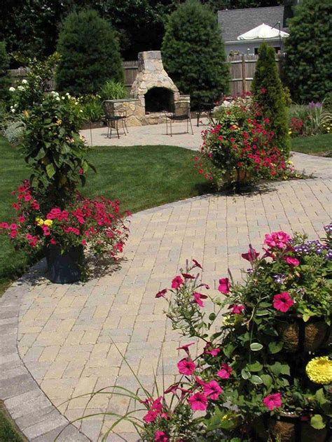 amazing backyard landscaping ideas corner