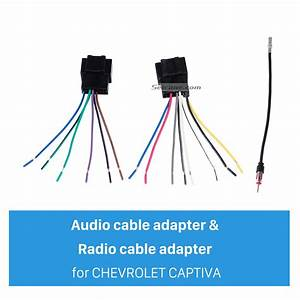 High Quality Wiring Harness Adapter Audio Cable And Radio Plug Adapter Cable For Chevrolet Captiva