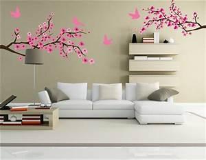Wall Art Designs: beautiful sticker peel on wall art