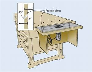 Tricks of the Trade: A Table for Your Trim Router
