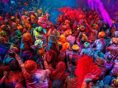 indian color festival festival of colors national geographic society