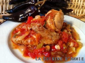 recette cuisine familiale recette poulet basquaise la cuisine familiale un plat