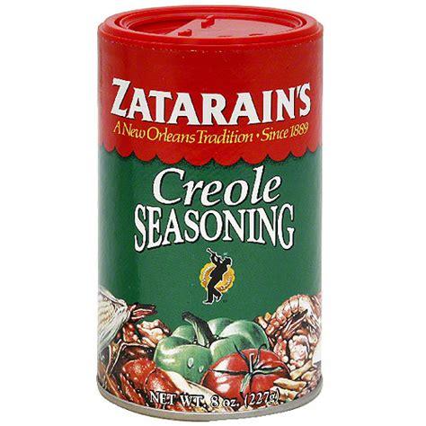 creole seasoning zatarain s creole seasoning 8 oz pack of 12 walmart com