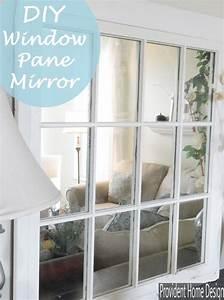 DIY Window Pane Mirror Home Pinterest Kreative Ideen