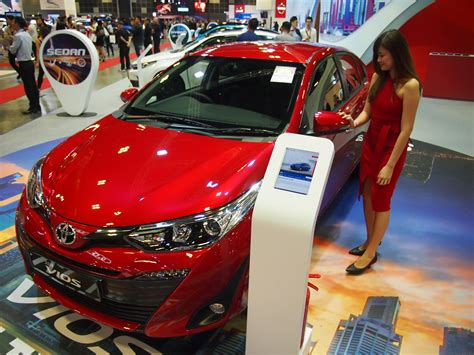 Toyota Vios 2018 Model Shows-up In Singapore Motor Show