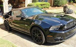 2014 Ford Mustang Gt Coupe 2-door 5 0l Black